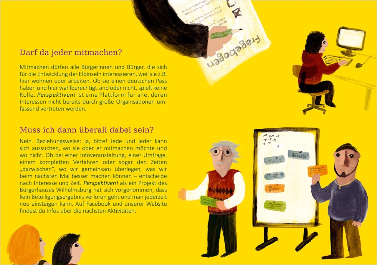 Sarah Roloff · Studio Ranokel Illustrierte Broschüre · Illustrated brochure